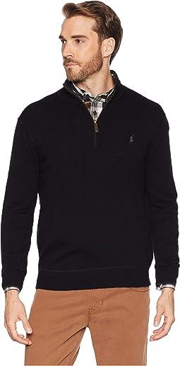 Washable Cashmere 1/2 Zip Sweater