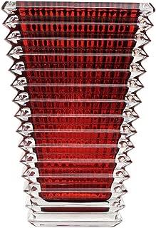 Baccarat Eye Red Small Rectangular Vase 2802298