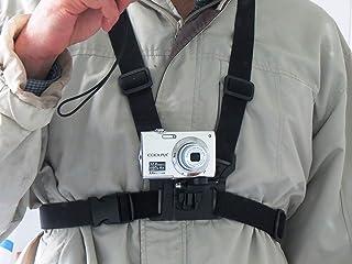3 in 1 Handy , Kamera , Action Cam Brust Halterung, Gurt für Action Sport, erfassen Sie beste Momente (Samsung, iPhone, GoPro, Yi, Sjcam, alle Digitalkameras usw.)