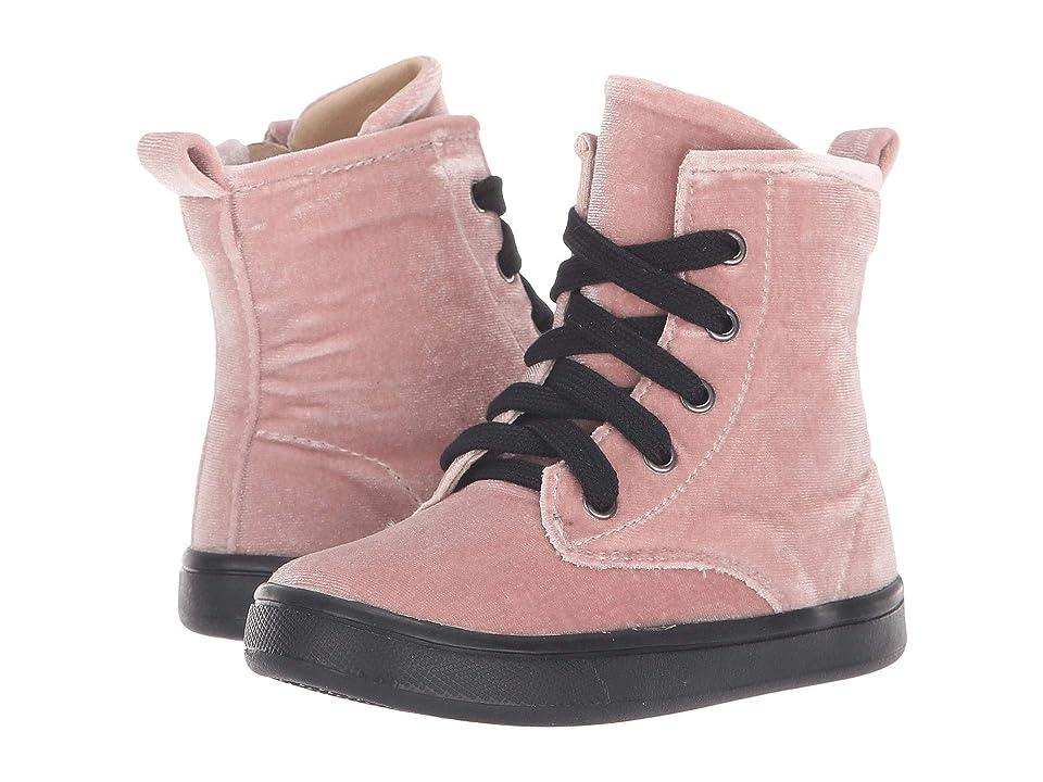 Old Soles Velvey Swag (Toddler/Little Kid) (Pink) Girl