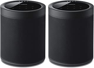 Yamaha WX-021BL MusicCast 20 Wireless Speakers - Pair (Black)