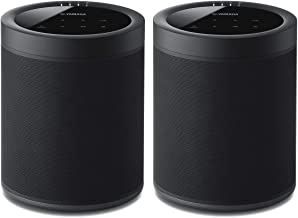 Yamaha WX-021BL MusicCast 20 Wireless Speakers - Pair (Black)