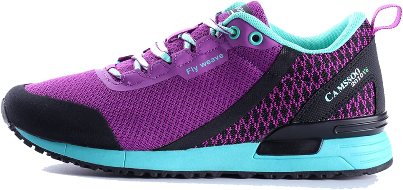 CAMSSOO Womens Outdoor Mesh Cushioning Waliking Hiking Running shoes