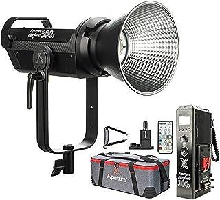 Aputure LS 300x Bi-Color LED Video Light, 2700-6500k 350W 24300lux@1m Sidus Link App & 2.4Ghz Remote Control 9 Built-in Li...