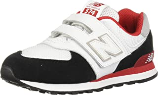 New Balance Kids' Iconic 574 V1 Hook and Loop Running Shoe