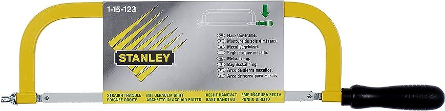 Stanley 1-15-123 Sierra de arco para metal con mango derecho