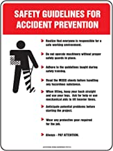Accuform PST216 Safety Awareness Poster,