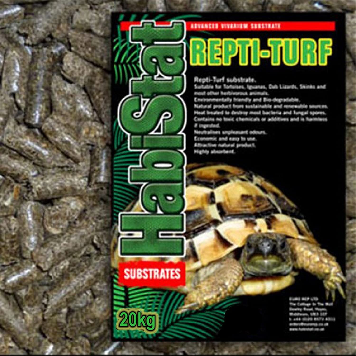 Monster Pet Supplies Euro Rep Rain Forest Reptile Substrate Coarse 10Ltr