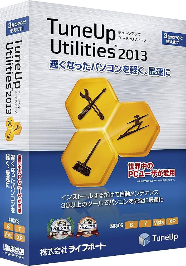 プランテーション信者伴うTuneUp Utilities 2013