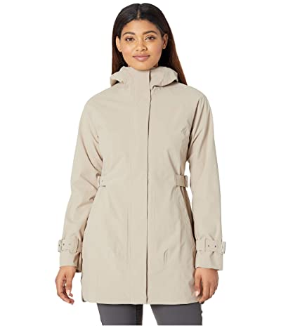The North Face City Breeze Rain Trench (Crockery Beige) Women