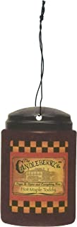 Candleberry Hot Maple Toddy Car Freshener X3