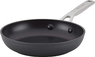 KitchenAid Hard Anodized Induction Nonstick Fry Pan/Skillet, 8.25 Inch, Matte Black