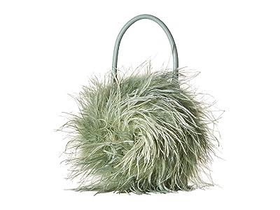 Loeffler Randall Zadie Feather Circle Tote (Sage) Tote Handbags