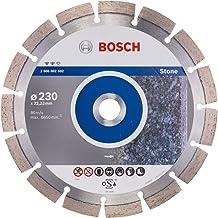 Bosch 2608602592 Disco de Corte de Diamante Expert For Stone, 230 X 22,23 X 2,4 X 12 mm