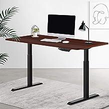 Artiss Standing Desk Sit Stand Table Riser Motorised Electric Frame Riser Dual Motors 140cm