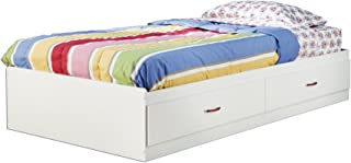 South Shore Logik Mates Bed with 2 Drawers, Twin 39