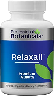 Professional Botanicals Relaxall - Muscle, Discomfort and Relaxation Support - 60 Vegetarian Capsules