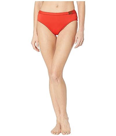 MICHAEL Michael Kors Logo Solids Belted Bottoms (Persimmon) Women