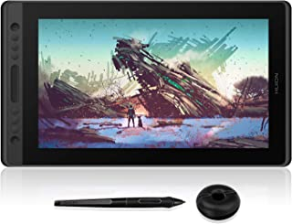 HUION Drawing Tablet Kamvas Pro 16 Pen Tablet Display Tilt eco-Friendly Battery-Free Stylus Full-Laminated Technology 8192...