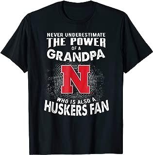 Nebraska Cornhuskers Never Underestimate T-Shirt