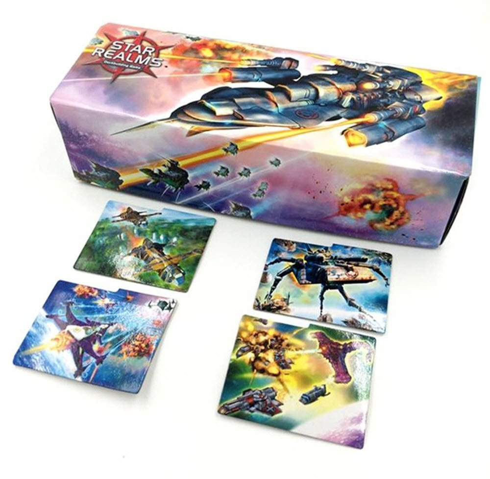 Legion - Large Deckbox - Star Realms Cardbox: Amazon.es: Juguetes y juegos