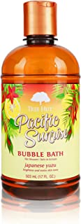 Tree Hut Shea Moisturizing Bubble Bath Pacific Sunrise, 17oz, Ultra Hydrating Bubble Bath for Nourishing Essential Body Ca...