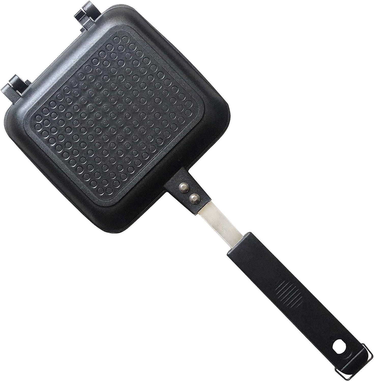 Antihaftbeschichtung und hitzebest/ändige Griffe Toastie Maker /& Toasted Sandwich Maker von Jean-Patrique F/ür den Au/ßenbereich geeignet ohne Strom