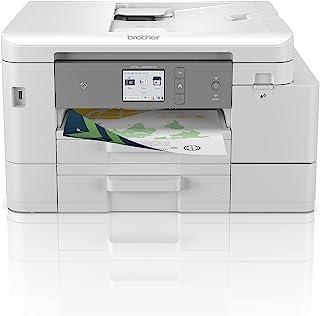 Brother MFC-J4540DWXL 4-in-1 kleureninkjetprinter (printer, scanner, kopieerapparaat, fax), wit, 435 x 250 x 355 mm