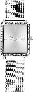 ساعة تي بمينا رمادي للنساء من تومي هيلفجر - 1782294
