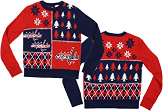Outerstuff NHL Big Boys Youth Holiday Ugly Sweater, Team Options