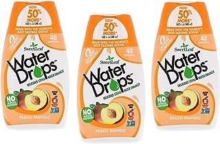Sweetleaf Water Drops (Peach Mango), 1.62 Fl Oz (Pack of 3)