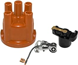 IAP Performance AC905585 Distributor Cap (Points and Rotor Kit for VW 009 Distributors; VW Beetle)