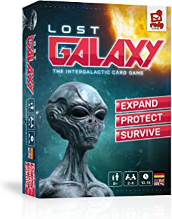 Rudy Games - Lost Galaxy 2019 - The Intergalactic Card Game - Interactive Game for Children 8 Years and Up and Adults