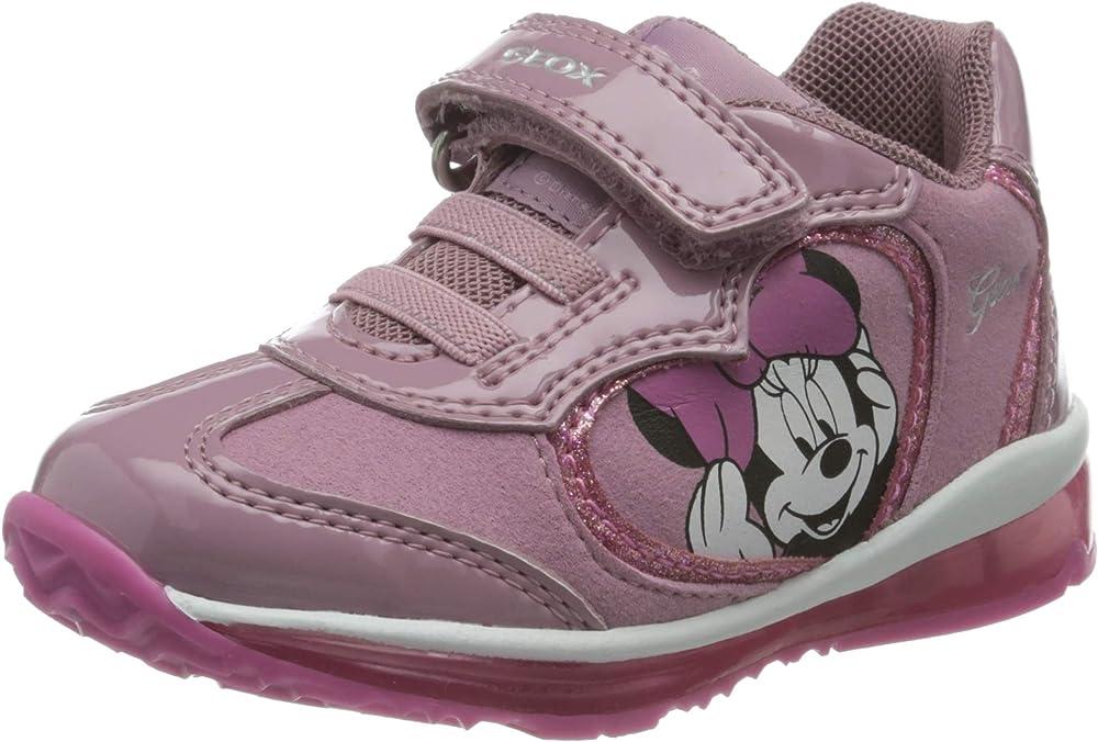 Geox b todo girl b, scarpe da ginnastica bambina B0485B002AU
