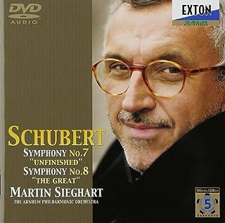 シューベルト:交響曲第7番「未完成」、第8番「ザ・グレイト」