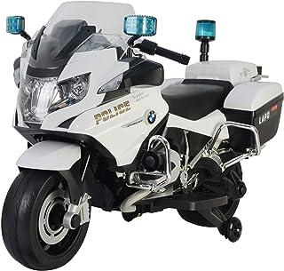 3d1d9f578a giordano shop Moto Elettrica per Bambini 12V BMW R1200 Police Bianca
