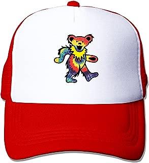 Rock The Grateful Dead Dancing Bear Trend Mesh Snapbacks Baseball Hat