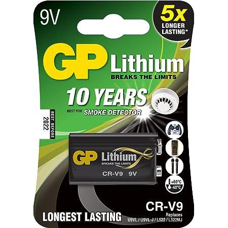 Gp Batterie Lithium 10 Jahres Batterie Ideal Für Z B Elektronik