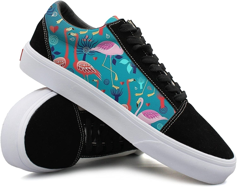 Womens Flamingo bluee Fashionable Sneakers