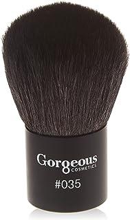 Gorgeous Cosmetics Brush #035 Makeup Brush, Kabuki/Bronzer Brush for Face Makeup, Natural Hair