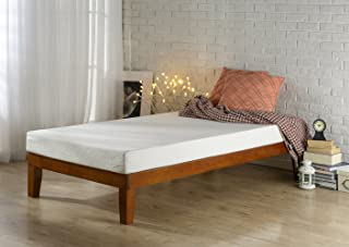 Zinus 12 Inch Wood Platform Bed/No Boxspring Needed/Wood Slat Support, Twin