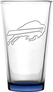 Buffalo Bills Embossed Pint Glass 16 oz. (2 pack)