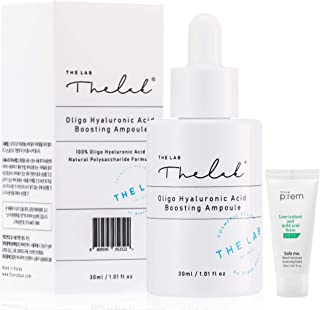 [The Lab by Blanc Doux] Oligo Hyaluronic Acid Boosting Ampoule, 1.01 fl.oz. (30ml) Concentrated Hyaluronic Acid Serum @ 1...