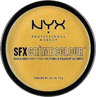 NYX PROFESSIONAL MAKEUP SFX Creme Colour, Gold, 0.21 Ounce
