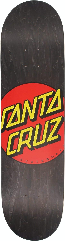 Santa Cruz Skateboard Deck Classic Dot Black 31.83