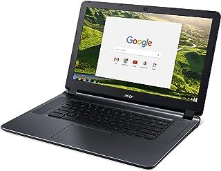 エイサーフラッグシップCB3-532 15.6インチHDプレミアムChromebook - インテルデュアルコアCeleron N3060、最大2.48GH.z、2GB RAM、16GB SSD、ワイヤレスAC、HDMI、USB 3.0、Web...