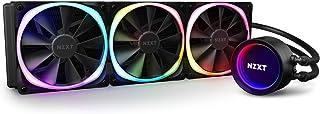 NZXT Kraken X73 RGB 360mm - RL-KRX73-R1 - AIO RGB CPU Liquid Cooler - Rotating Infinity Mirror Design - Improved Pump - Po...