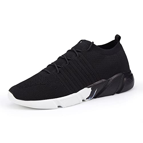 WXQ Men s Running Shoes Fashion Breathable Sneakers Mesh Soft Sole Casual  Athletic Lightweight Walking Shoes 7c1bae98c