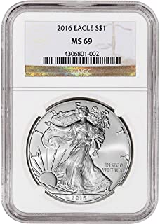 ngc ms69 silver eagles