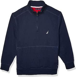 Men's Big and Tall Quarter-Zip Fleece Pullover